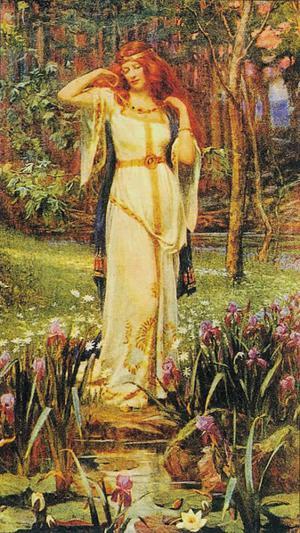 Freya, our Patron Goddess.