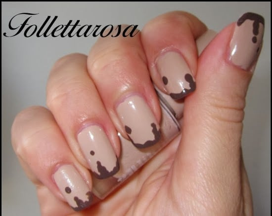 unghie nutella nail art