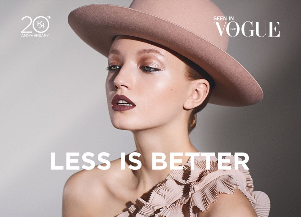 less is better collezione anniversario kiko