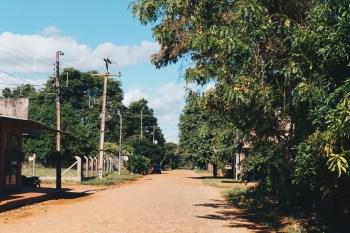 Straße in Paraguay