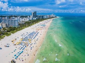 miami beach strand drone 3