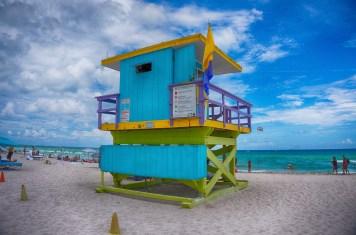 miami beach strand hütte 3