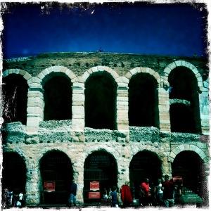 Flashpacking Reise nach Verona Italien