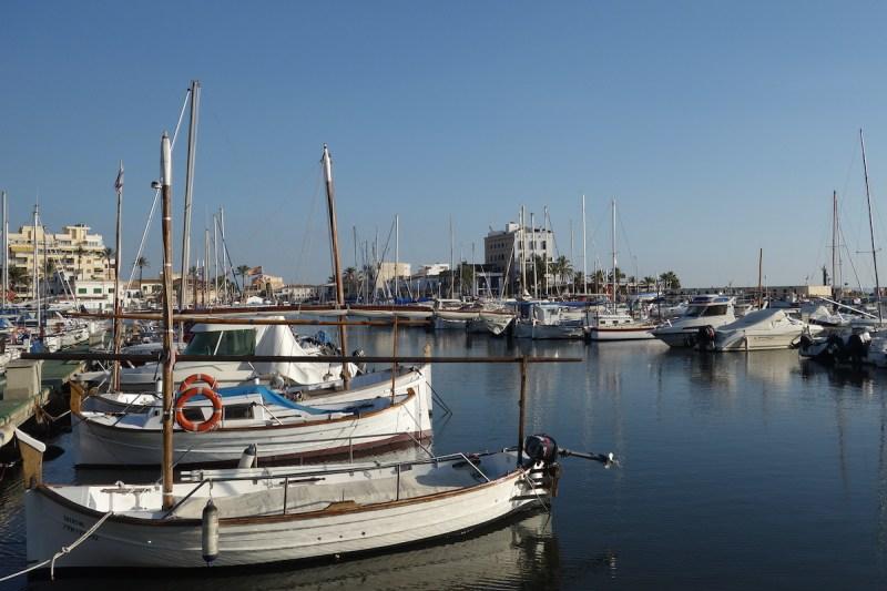 Fischerhafen und Hotel Portixol Palma Mallorca