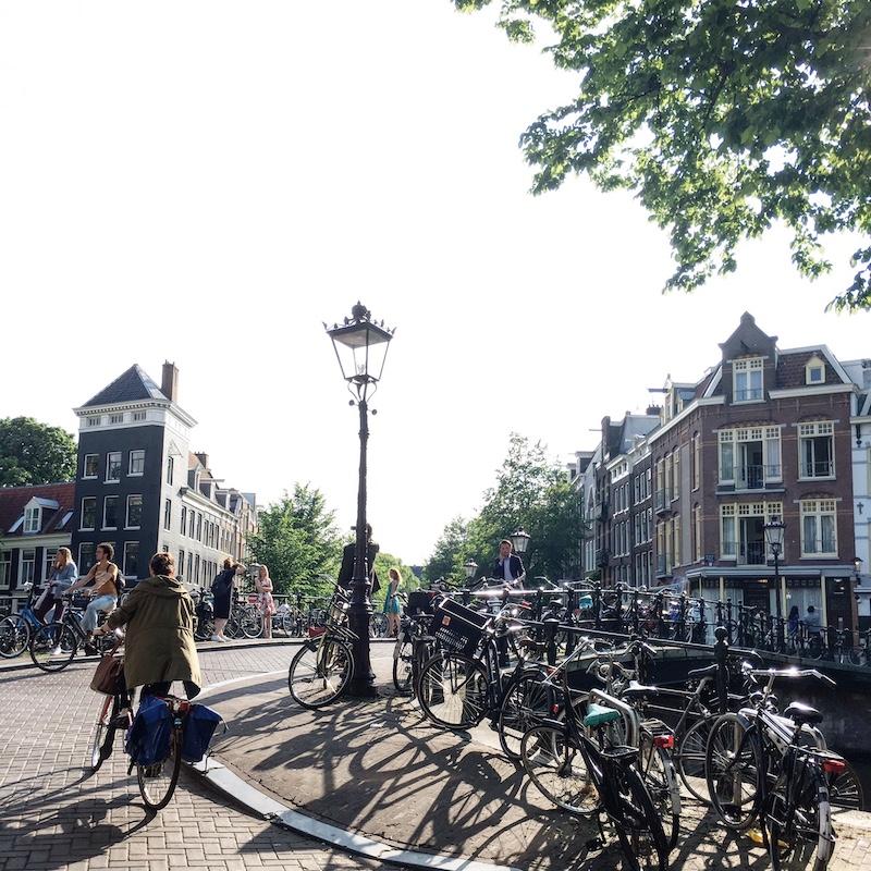 Leidseplein Radweg Amsterdam