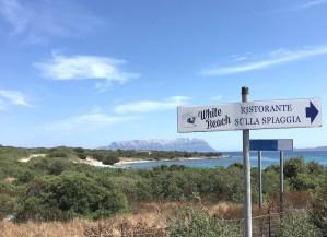 White Beach Sardinien