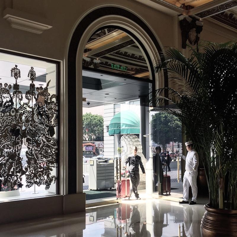 page lobby peninsula hotel