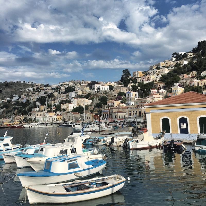 Hafen Symi Greece