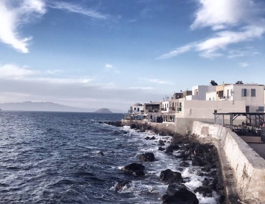 Meer Stadt Nisyros