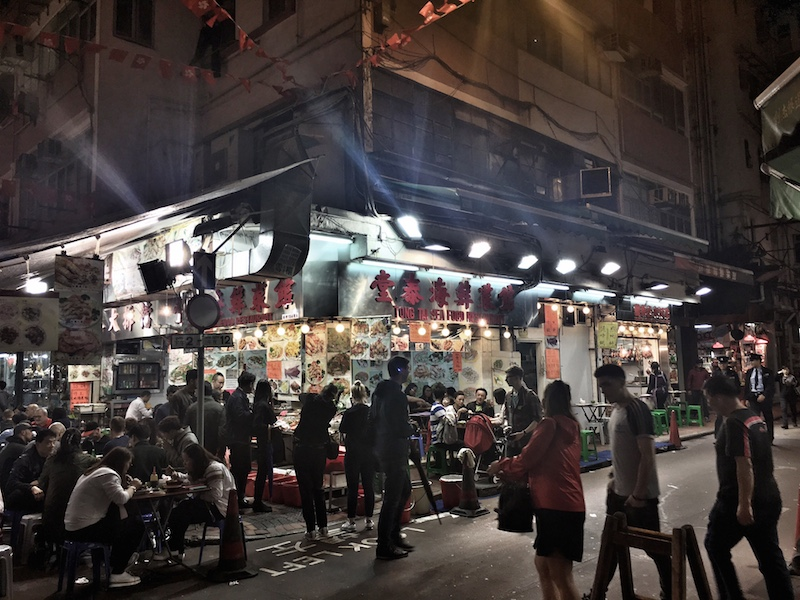 night streetmarket hongkong