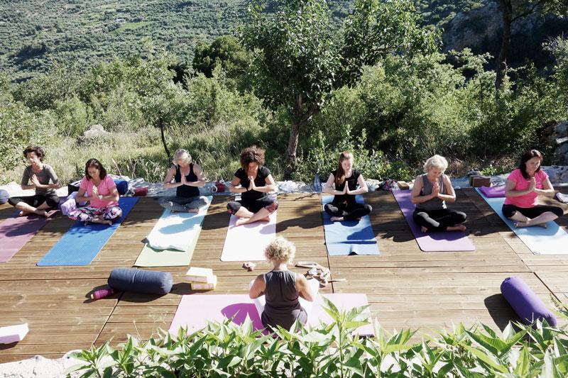 Namaste-Yogaurlaub-Kreta