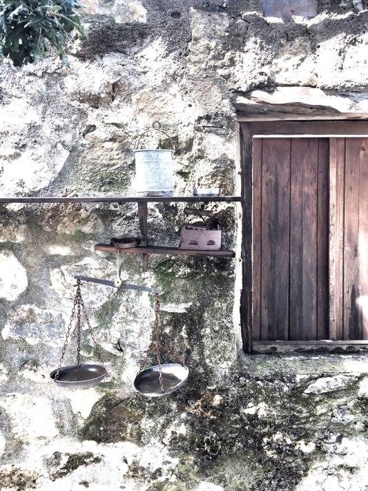 Steinmauer-Enagron-Village-Kreta