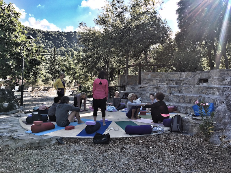 Yogaretreat Partneruebung