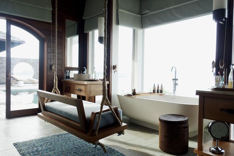 Badezimmer-Six-Senses-Seychellen