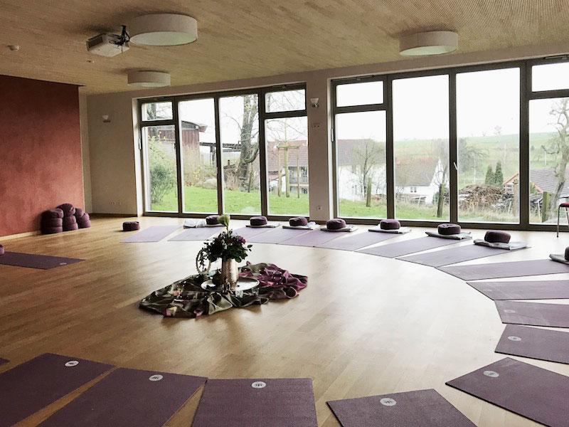 Yogaraum-Ayurvedazentrum