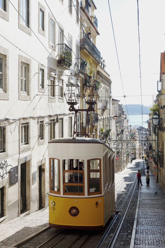 Strassenbahn-Lissabon