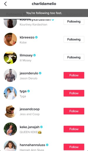 You Re Following Too Fast On Tiktok How To Fix Followchain