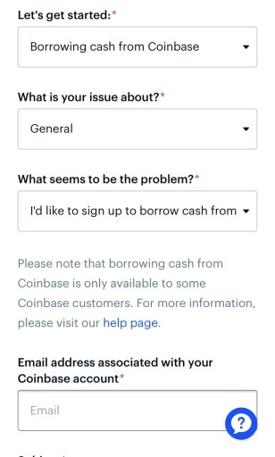 Coinbase ticket