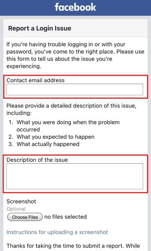 """How to Fix """"We Received Your Information"""" on Facebook"""