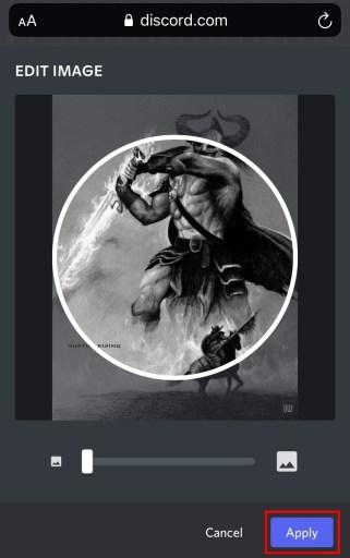 Edit image on Discord