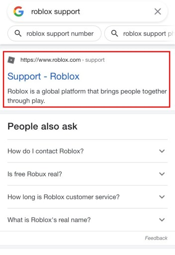 Get Back Roblox Account