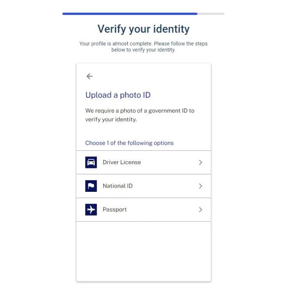 Verify your identity BlockFi