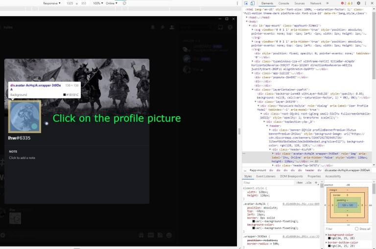 Download Discord profile picture