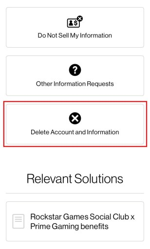 How to delete your Rockstar Games account