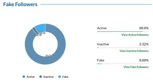 Haillary fake followers