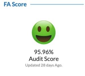 Modi's FA Score
