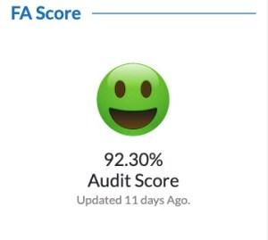 Follower Audit Score