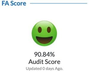 Rajnath Singh Follower Audit Score