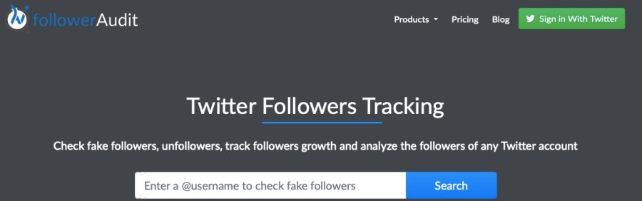 Twitter follower tracker tool
