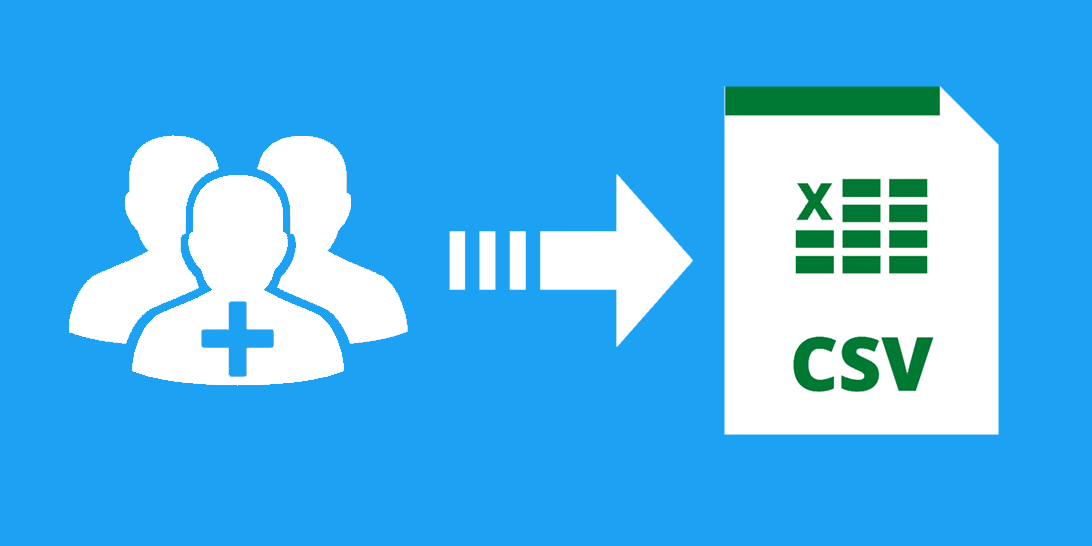 how to export followers in CSV