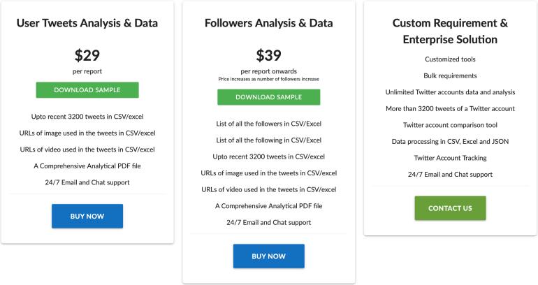 FollowersAnalysis pricing