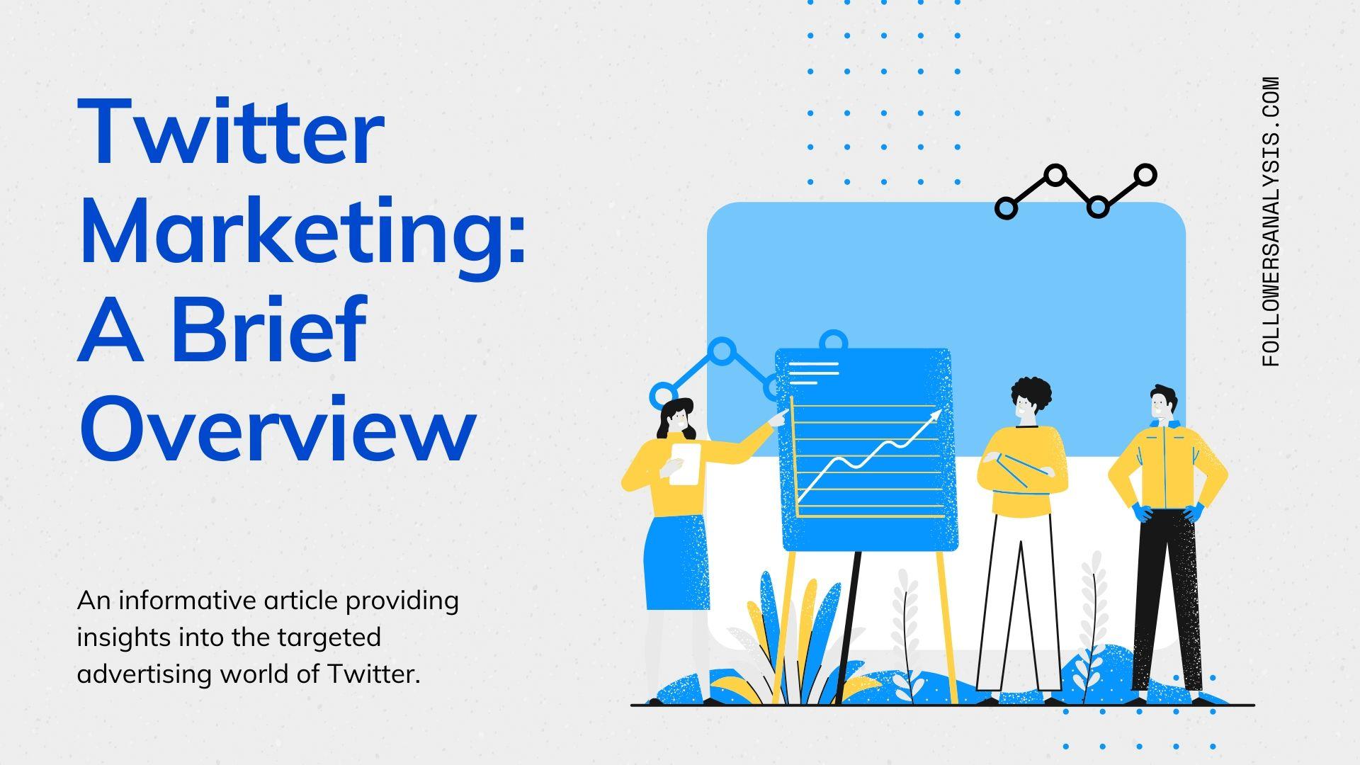Twitter marketing blog banner