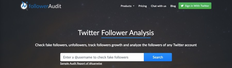 track, audit, and analyze Twitter followers