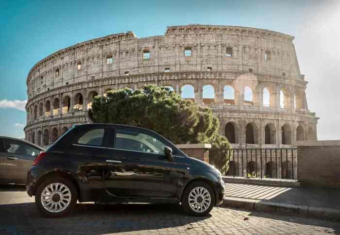 don't write off renting a car in italy
