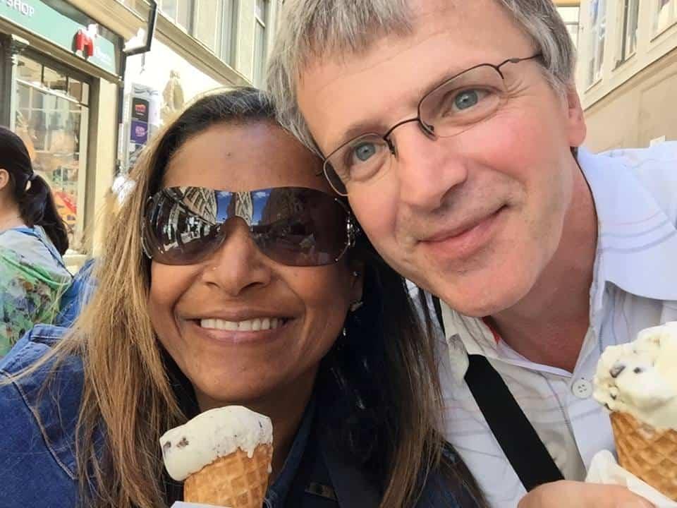 Amateur interracial couple abroad skinny