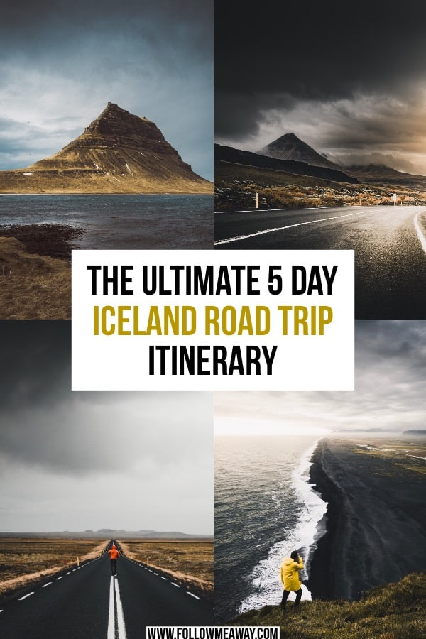 The Ultimate 5 Day Iceland Road Trip Itinerary. How to plan your Iceland road trip has never been easier! This iceland road trip itinerary will show you how to road trip in iceland in 5 days. This 5 day Iceland itinerary shows you the best Iceland has to offer on a road trip! #iceland