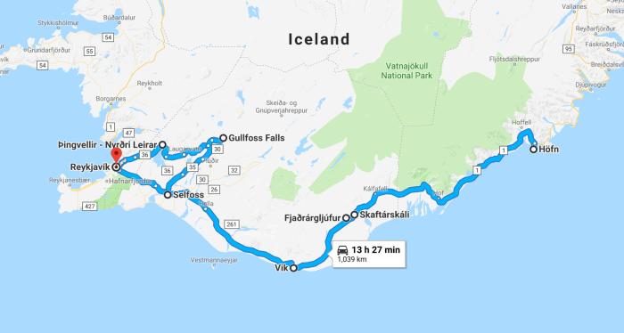 The Ultimate 5 Days In Iceland Road Trip Itinerary - Follow Me Away