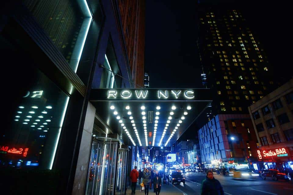 10 reasons why row nyc is the best hotel near times square follow