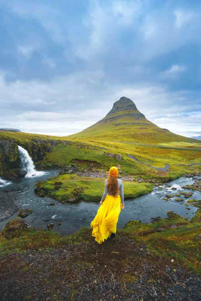 Kirkjufell in Iceland Snaefellsnes Peninsula is one of the best photography locations in Iceland