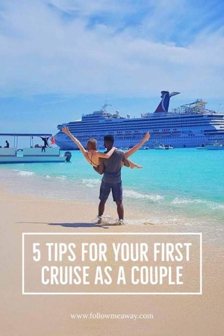 5 Cruise Tips For Couples Onboard The Carnival Sunshine | What to pack for a cruise in the Caribbean || Couples Travel Tips | What To know on your first cruise | Cruise Packing list