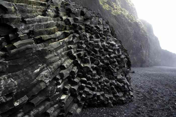 amazing photography at black sand beaches in Iceland