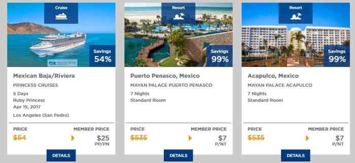 5 ways sears vacations select access provides travel for Getaway deals near me