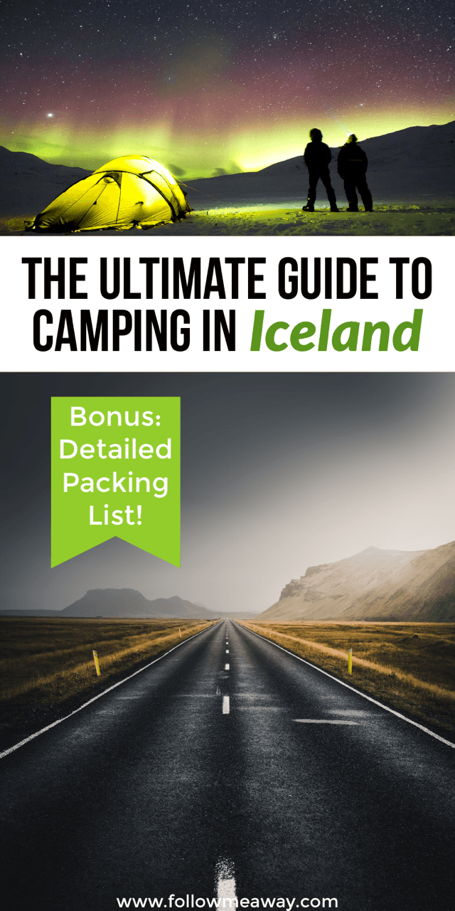 5 things to know about camping in iceland | iceland road trip guide | where to stay on an iceland road trip | iceland travel tips | iceland campervan tips | where to stay in iceland | iceland road trip guide