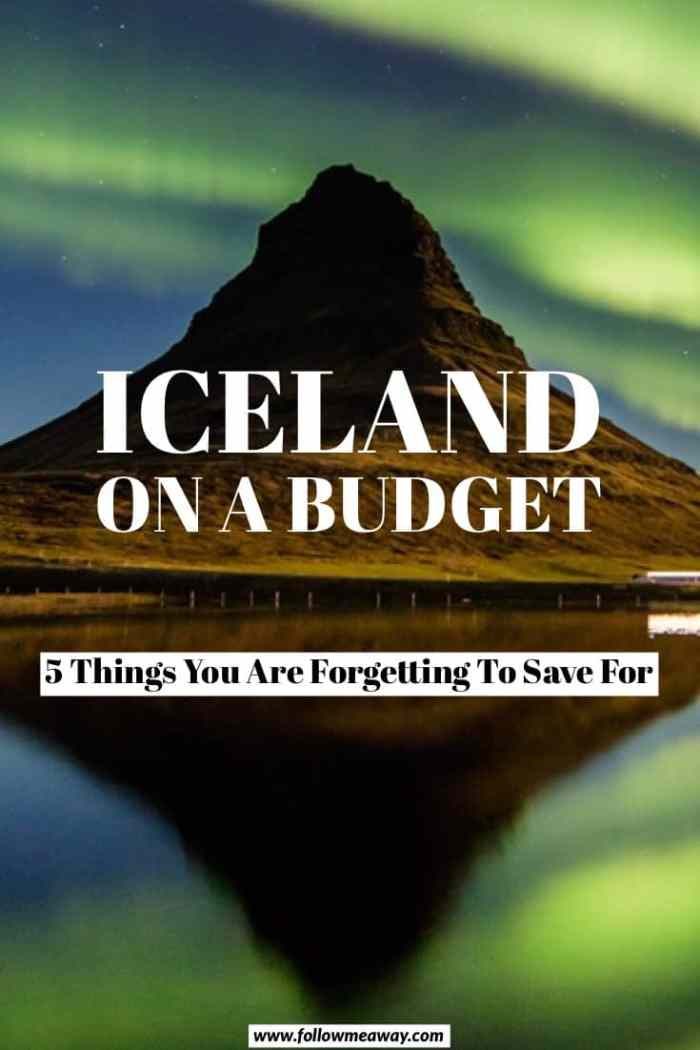 How to visit Iceland on a budget | budget travel in Iceland | tips for visiting Iceland on a budget | cheap travel to iceland | budget Iceland travel tips