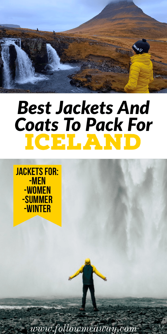 Best Jackets For Iceland To Pack Winter Or Summer | what to wear in iceland | what to pack for iceland | iceland packing list | best jackets to pack for iceland in winter | iceland packing list