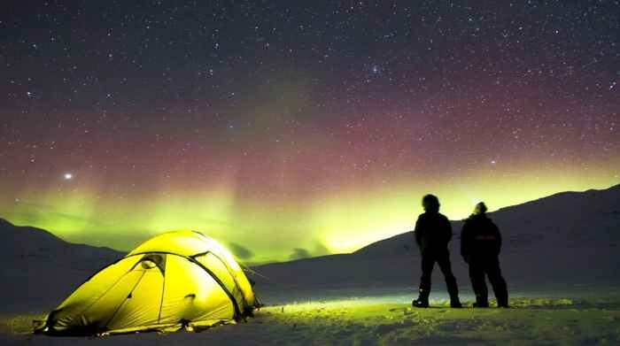 camping is one of the best budget travel tips for iceland
